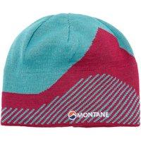 Montane Womens Logo Beanie, Blue