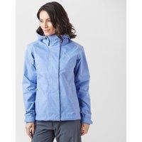 Jack Wolfskin Womens Paradise Valley Jacket - Blue/Blue, Blu