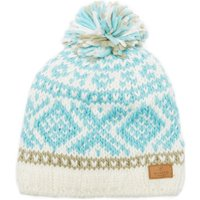 Barts Womens Log Cabin Beanie, Blue