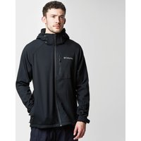Columbia Mens Cascade Ridge II Softshell Jacket, Black