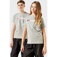 Berghaus Kids Logo T-shirt  Grey