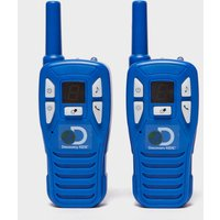 Discovery Channel Digital Walkie Talkie, Blue