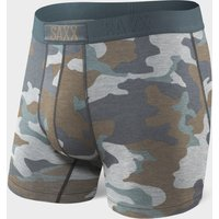 Saxx Men's Vibe Boxer Short, Green/MUL