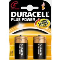 Duracell Plus Power Mn1400 C Batteries 2 Pack - Black/Black, Black/Black