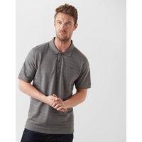 Brasher Men's Polo Shirt, Grey