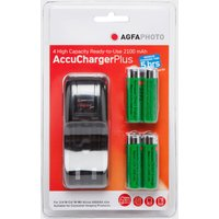 Agfa AccuCharger Plus - Red, Red