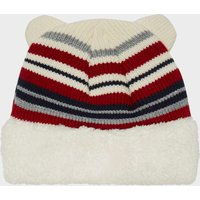 Peter Storm Kids Lucas Beanie, White/Red/Blue