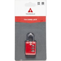 Technicals Combination Lock - Red, Red