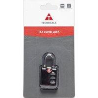 Technicals Combination Lock - Black, Black