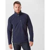 Brasher Men's Bleaberry II Half Zip Fleece, Navy