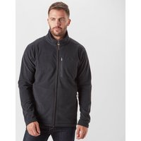 Brasher Men's Bleaberry Full-Zip Fleece, Black