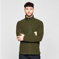 Brasher Mens Bleaberry Full-zip Fleece  Green