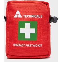 Technicals Compact First Aid Kit - Red, Red