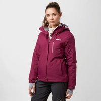 Alpine Womens Morzine Waterproof Ski Jacket, Purple