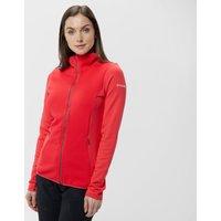 Columbia Womens Roffe Ridge Full-Zip Fleece, Red