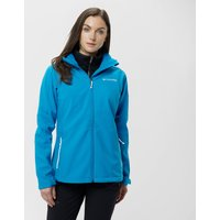 Columbia Womens Cascade Ridge Softshell Jacket, Blue