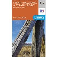 Ordnance Survey Explorer 449 Strath Halladale & Strathy Point Map With Digital Version, N/A