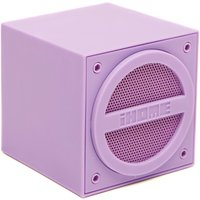 Ihome Wireless Rechargeable Mini Speaker Cube, Purple
