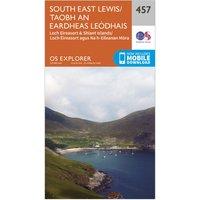 Ordnance Survey Explorer 457 South East Lewis Map With Digital Version, N/A