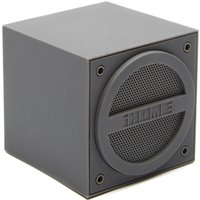 Ihome Wireless Rechargeable Mini Speaker Cube, Grey