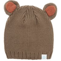 Alpine Womens Bear Beanie, Brown