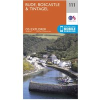 Ordnance Survey Explorer 111 Bude, Boscastle & Tintagel Map With Digital Version, D/D