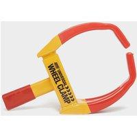 Maypole Universal Wheel Clamp - Red/Yellow, RED/YELLOW