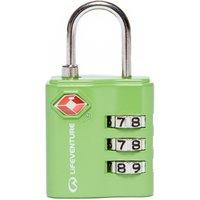 Lifeventure TSA Combi Lock, Green