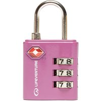 Lifeventure TSA Combi Lock, Pink