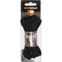 Sof Sole Wax Boot Laces - 152cm, Black/BLK