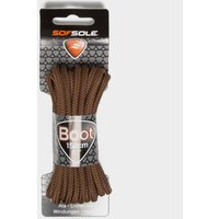 Sof Sole Wax Boot Laces - 114cm, Brown/BRN