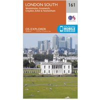 Ordnance Survey Explorer 161 London South Map With Digital Version, N/A