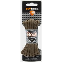 Sof Sole Wax Boot Laces - 114cm, Brown/DBN