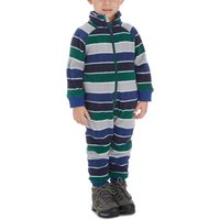 Kozi Kidz Boys Microfleece Jumpsuit, Blue