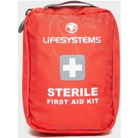 Lifesystems Sterile First Aid Kit - Red/Aid, Red/AID