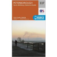 Ordnance Survey Explorer 227 Peterborough Map With Digital Version, N/A