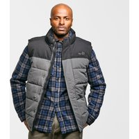 Peter Storm Men's Walter Wadded II Insulated Gilet, GRY/GRY