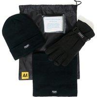 Aa Car Essentials Winter Warmer Kit, Black