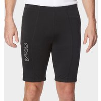 Omm Men's Flash 0.5 Short Cut Running Leggings, Black