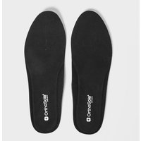 Orthosole Men's Thin Style Insoles, Black/Black