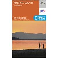 Ordnance Survey Explorer 256 Kintyre South Campeltown Map With Digital Version, N/A
