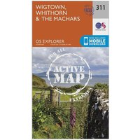 Ordnance Survey Explorer Active 311 Wigtown, Whithorn & The Machars Map With Digital Version, N/A