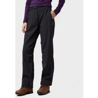 Peter Storm Women's Softshell Trousers, Black