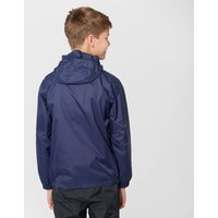 Peter Storm Kids Unisex Packable Waterproof Jacket, Navy