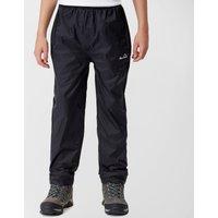 Peter Storm Kids Unisex Packable Pants, Black