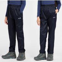 Peter Storm Kids Unisex Packable Pants, Navy