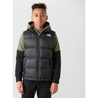 The North Face Kids' Nuptse Down Gilet, Black