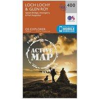 Ordnance Survey Explorer Active 400 Loch Lochy & Glen Roy Map With Digital Version, N/A