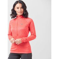 Paramo Women's Tempro Zip Neck Baselayer, Pink