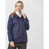 Peter Storm Womens Packable Hooded Jacket, Navy